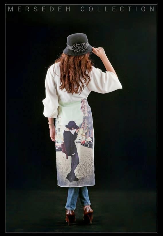 مدل مانتو جدید با گیپور نه ای مدل لباس جدید ایرانی و اروپایی - مطالب مانتو ایرانی سنتی